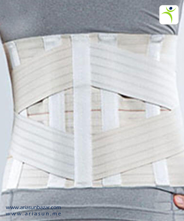 کمربند-طبی-پد-دار-منفذدار-Elastic-Lumbosacral-Corset-with-Pad-1